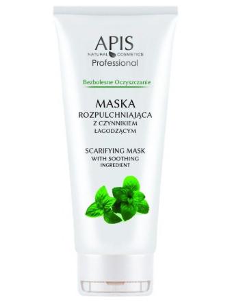 Maseczka do twarzy otwiera pory, zmiękcza skórę i minimalizuje ból podczas zabiegu oczyszczania