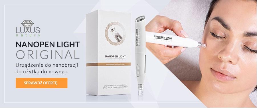 Nanopen Light do zabiegów nanobrazji - profesjonalne urządzenie kosmetologiczne