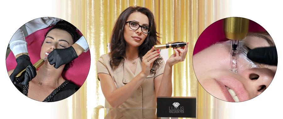 Hialuron Pen do zabiegów kosmetologicznych do bezigłowego wypełniania kwasem hialuronowym
