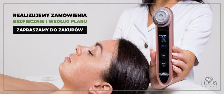 Darmowa dostawa produktów i sprzętu kosmetologicznego od 600 zł
